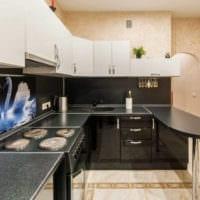 кухня 3 на 3 дизайн фото