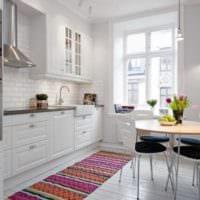 кухня 3 на 3 белая