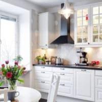 кухня 3 на 3 белый гарнитур