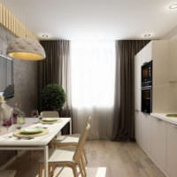 кухня 3 на 3 планировка