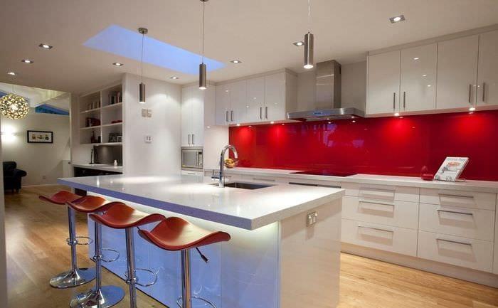 кухня хай тек светильники