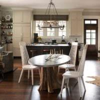 кухня столовая гостиная в частном доме идеи фото дизайн