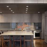 кухня в стиле хай-тек дизайн