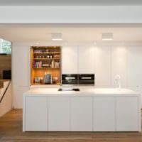 кухня в стиле хай-тек дизайн фото