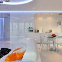 кухня в стиле хай-тек дизайн идеи