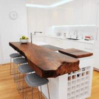 кухня в стиле хай-тек дизайн мебели