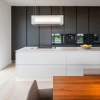 кухня в стиле хай-тек дизайн проект
