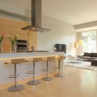 кухня в стиле хай-тек фото дизайна