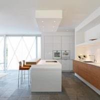 кухня в стиле хай-тек фото идеи
