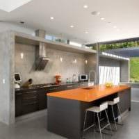 кухня в стиле хай-тек идеи