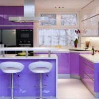 кухня в стиле хай-тек идеи дизайна