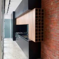 кухня в стиле хай-тек интерьер фото
