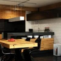 кухня в стиле хай-тек интерьер идеи