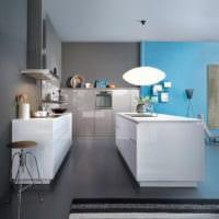 кухня в стиле хай-тек современный дизайн