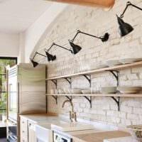кухня в стиле лофт декор