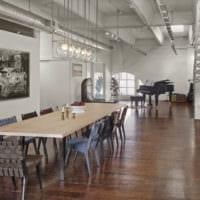 кухня в стиле лофт фото дизайна