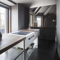 кухня в стиле лофт идеи интерьера