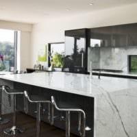 кухня в стиле модерн дизайн