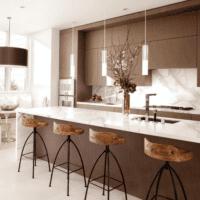 кухня в стиле модерн практичная