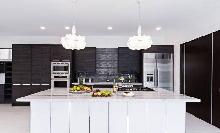 кухня венге модерн