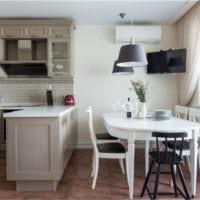 кухня прованс бежевая