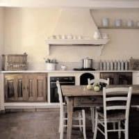 кухня прованс интерьер
