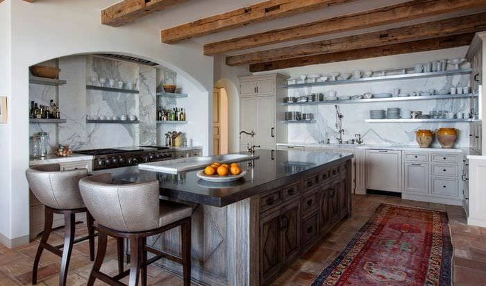 кухня прованс посуда