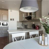 кухня прованс светлый дизайн