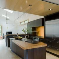 кухня венге интерьер