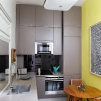 кухня маленькая 3 кв. м.