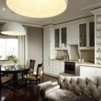 кухня с вентиляционным коробом фото дизайн