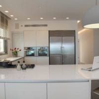 кухня в стиле модерн фото