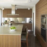 кухня в стиле модерн идеи дизайна