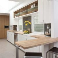кухня в стиле модерн интерьер