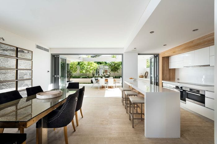 мебель на кухне модерн