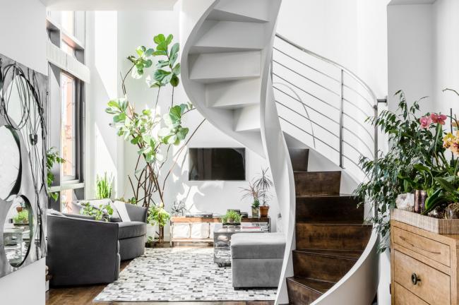 лестница в интерьере дома