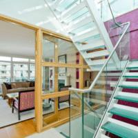 лестница в частном доме идеи
