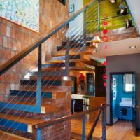 лестница в частном доме интерьер