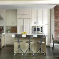 кухня в стиле лофт мебель