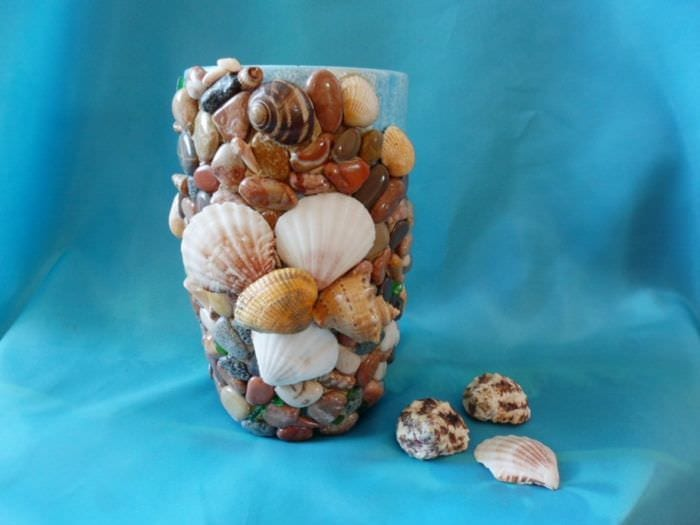 морской декор вазы