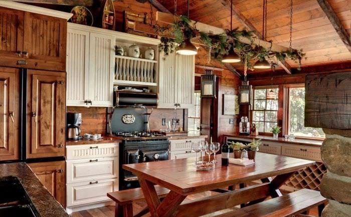 обустройство дачной кухни