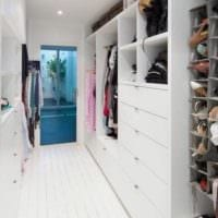 организованный дизайн гардеробной