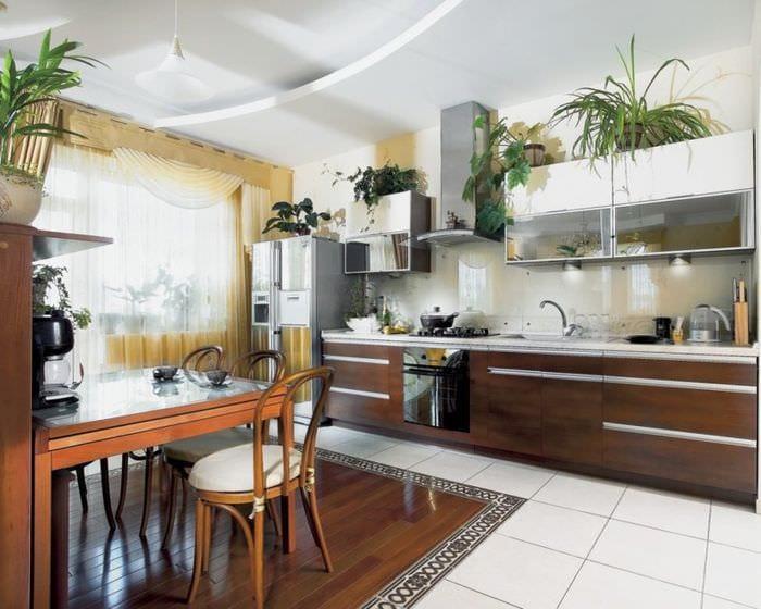 перепланировка кухни с балконом