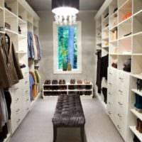 дизайн гардеробной планировка