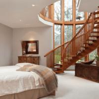 практичный дизайн лестницы в доме