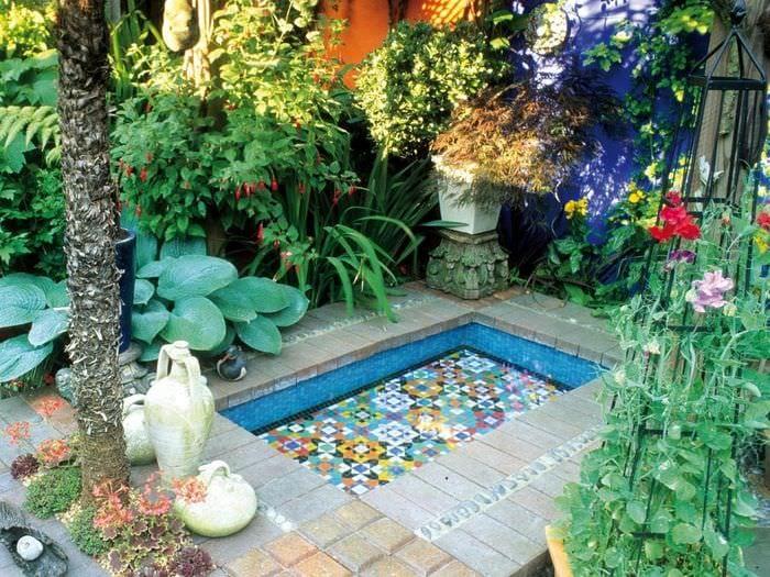 идея применения светлых идей оформления зимнего сада