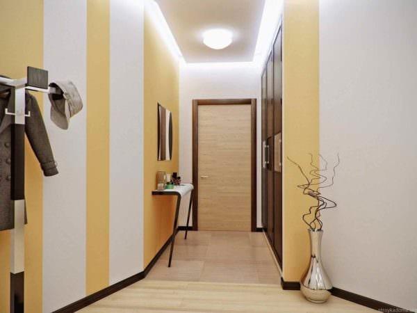 идея использования красивого желтого цвета в декоре квартиры фото