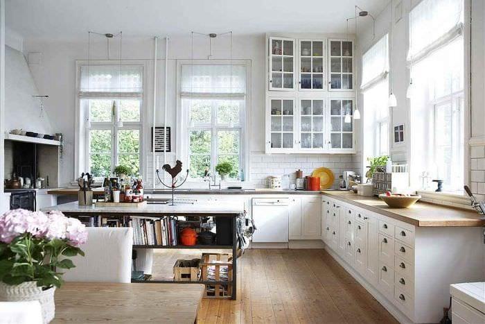 пример применения красивого скандинавского стиля в дизайне