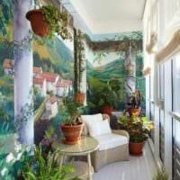 пример использования красивых идей оформления зимнего сада в доме фото
