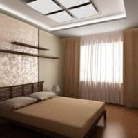 пример светлого дизайна комнаты 12 кв.м фото